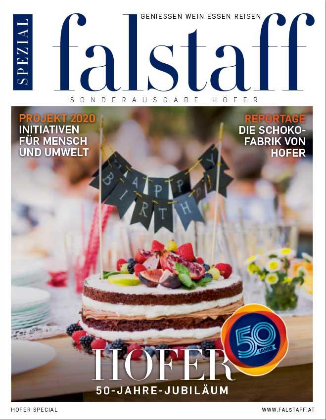 Falstaff Spezial 50 Jahre Hofer
