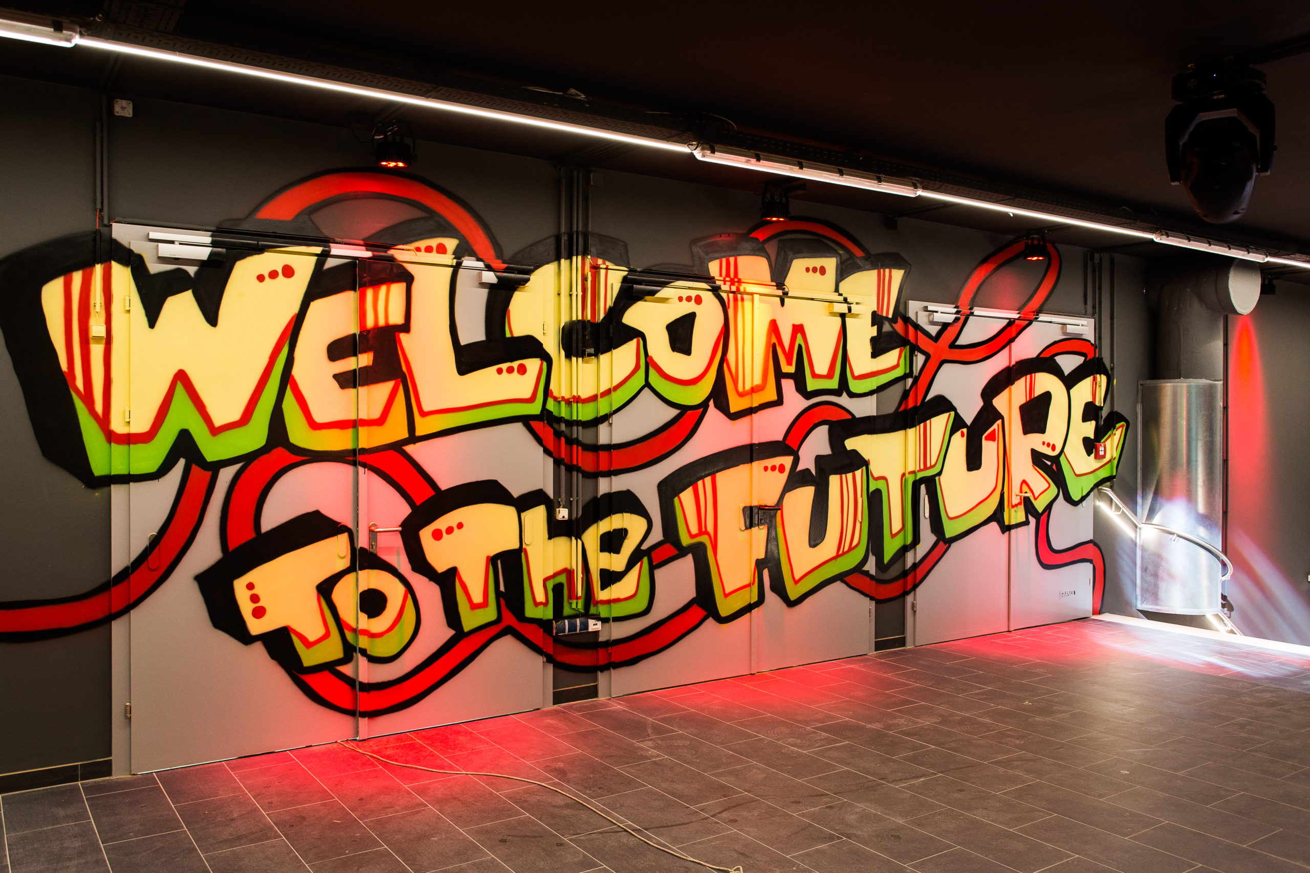 Welcome to the Future Graffiti